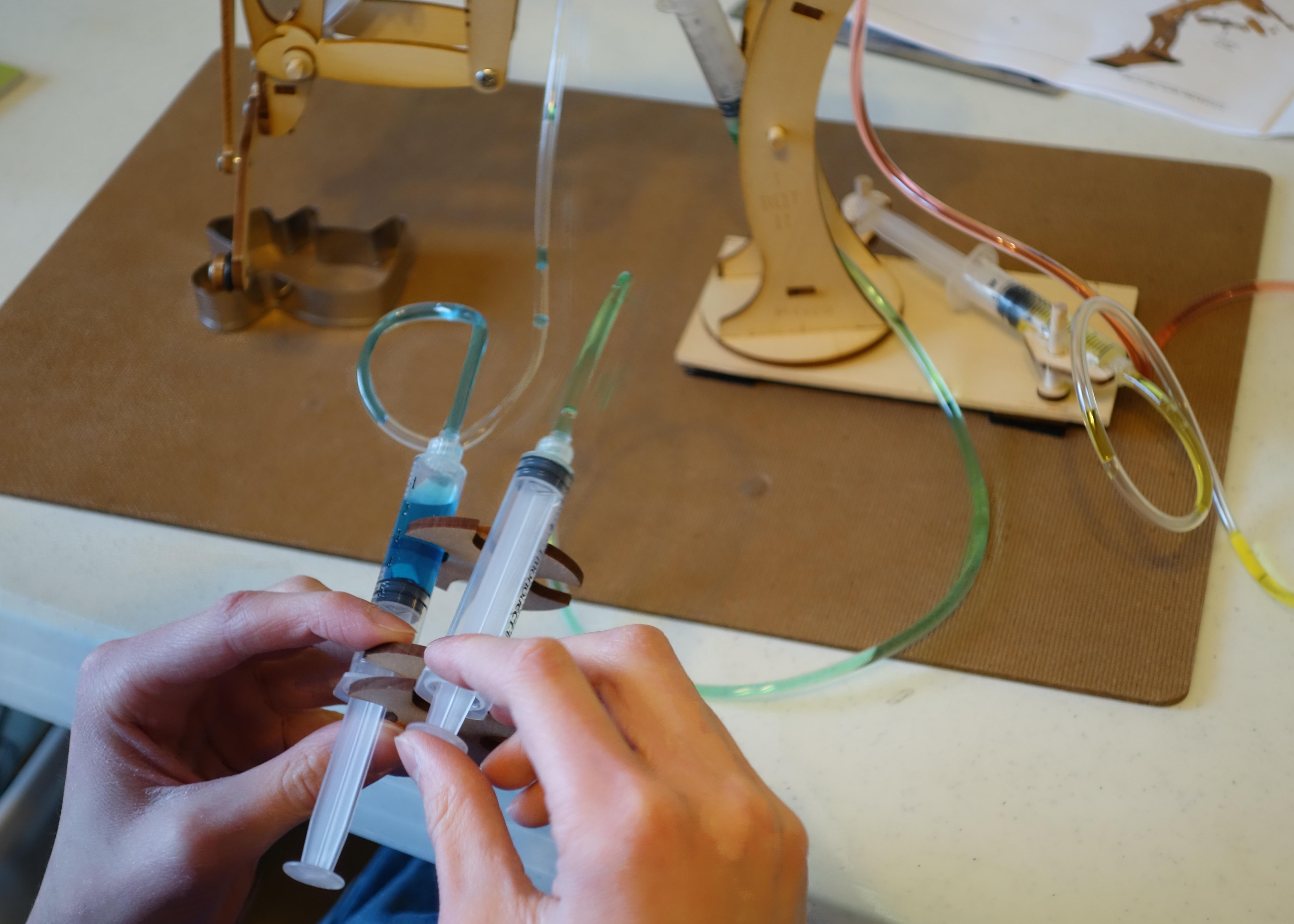 Homemade Hydraulic Arm Design : Hydraulic arm kit diy