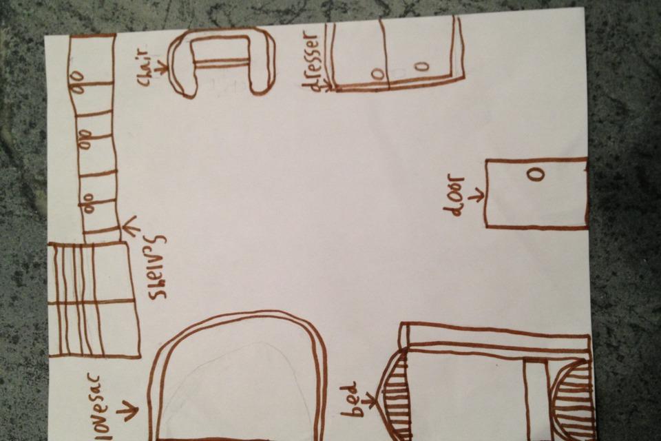 Map Of My Room Diy