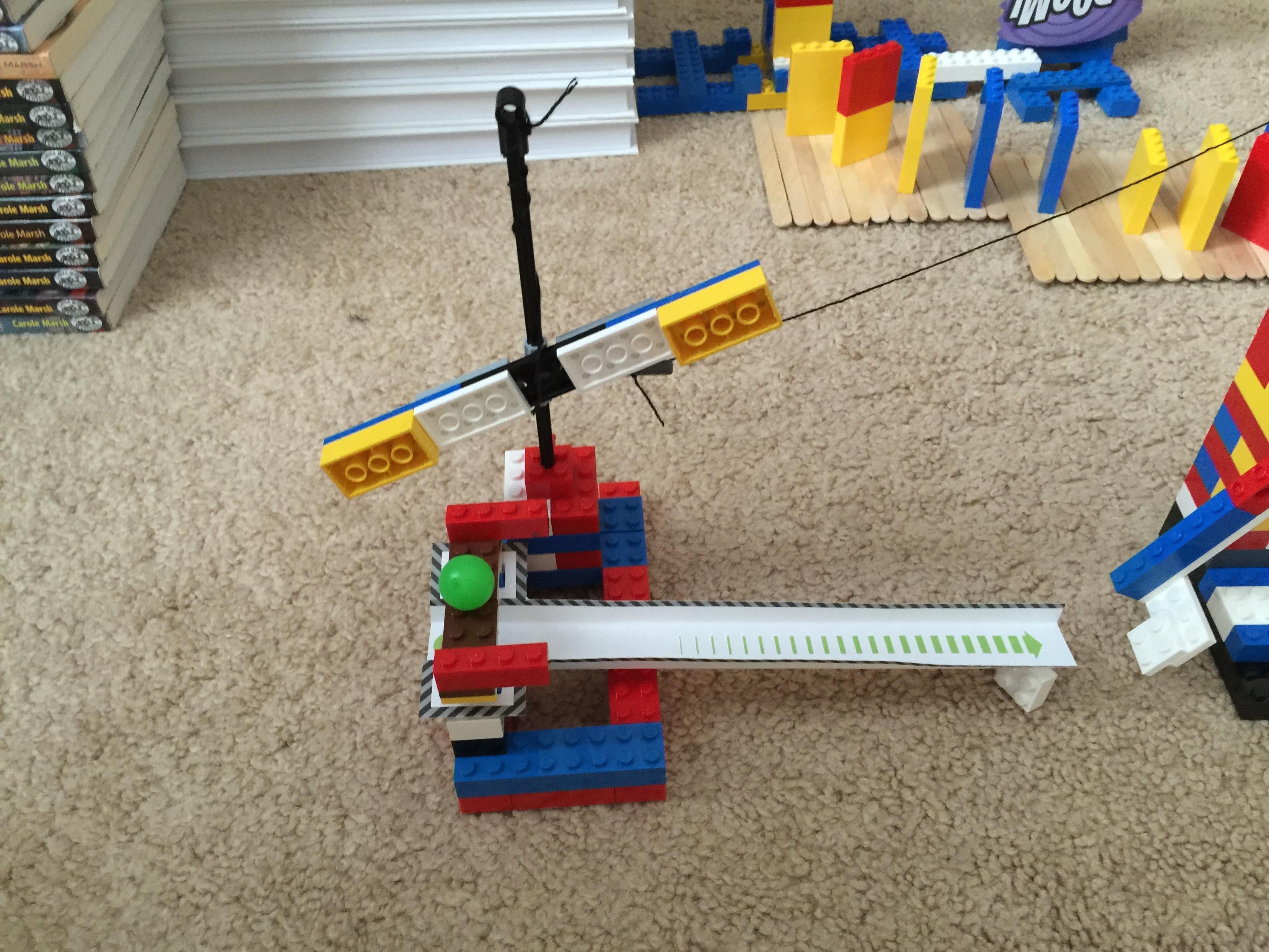 Lego rube goldberg diy for Lego diy