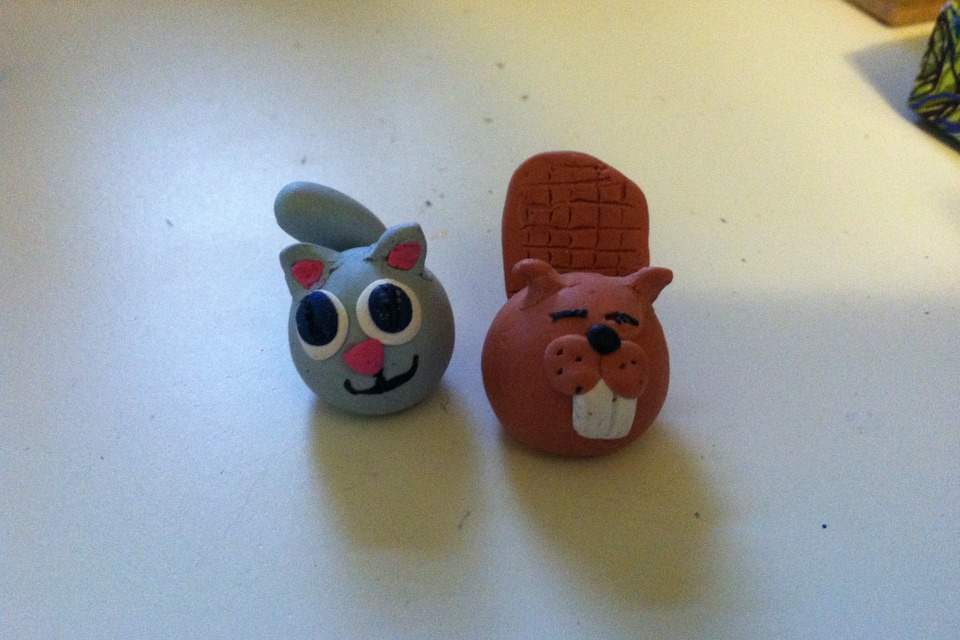 easy clay animals - photo #27
