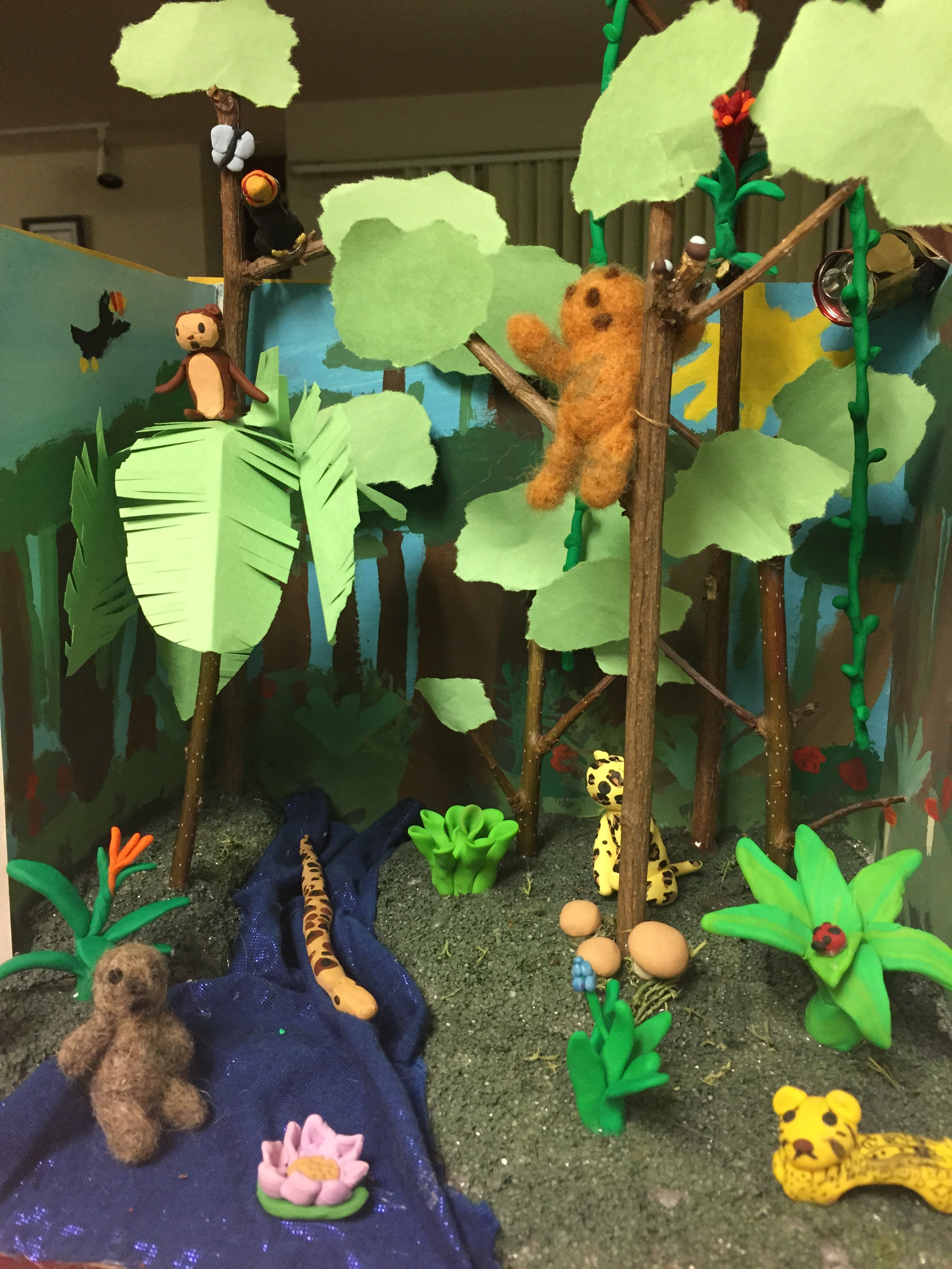 Three Toed Sloth Diorama Diy