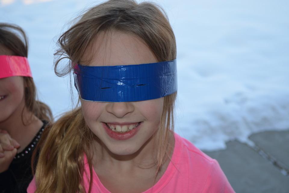 Duck Tape Snow Goggles - DIY