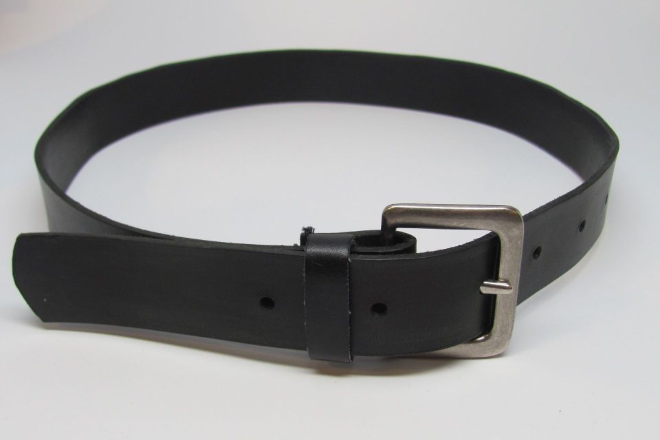 leather belt diy