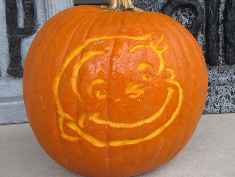 Curious George Pumpkin Made Whelp Diy