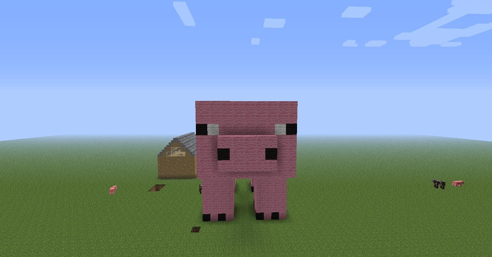 minecraft how to make a pig