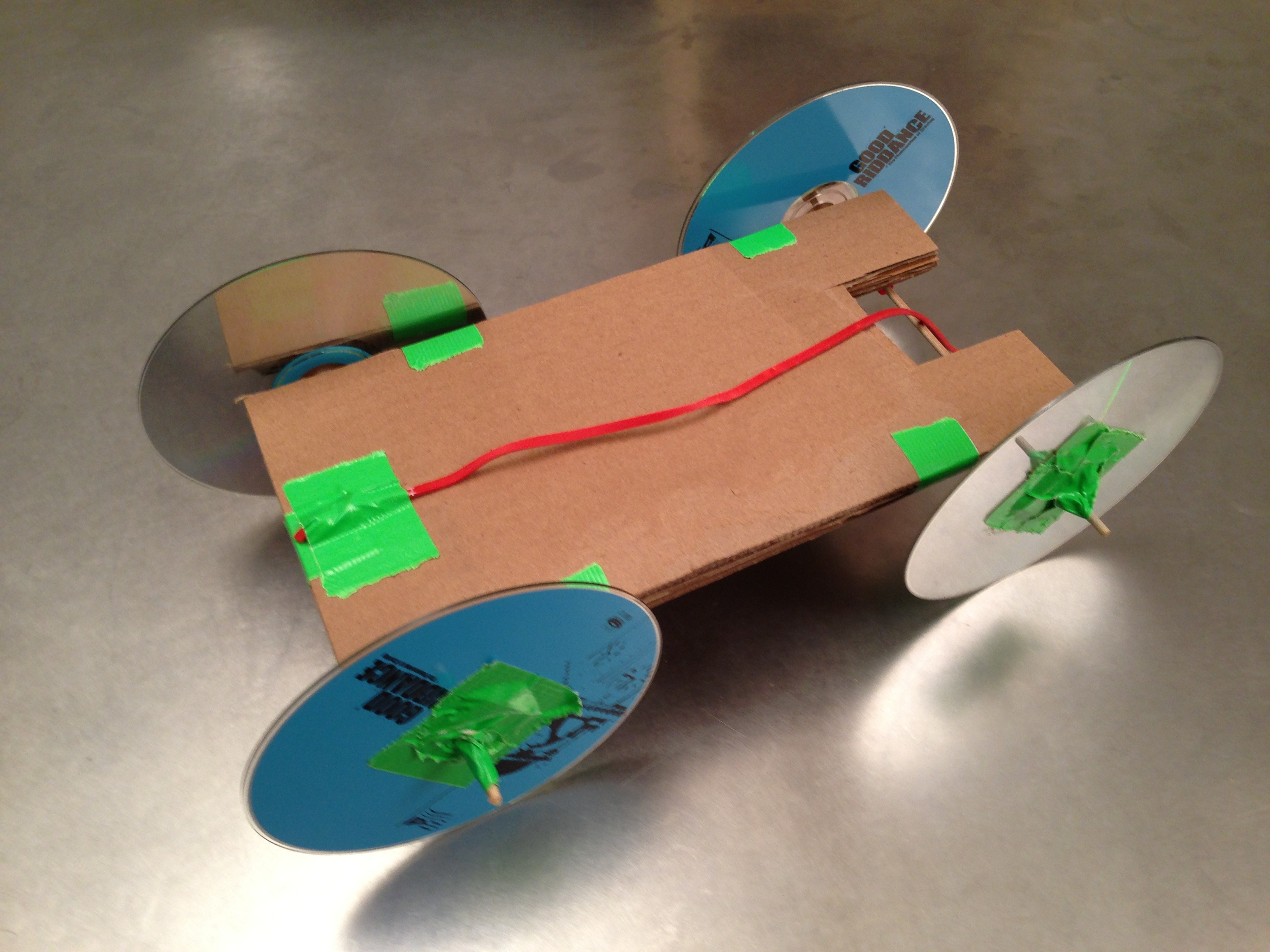 Rubber band powered car diy malvernweather Image collections