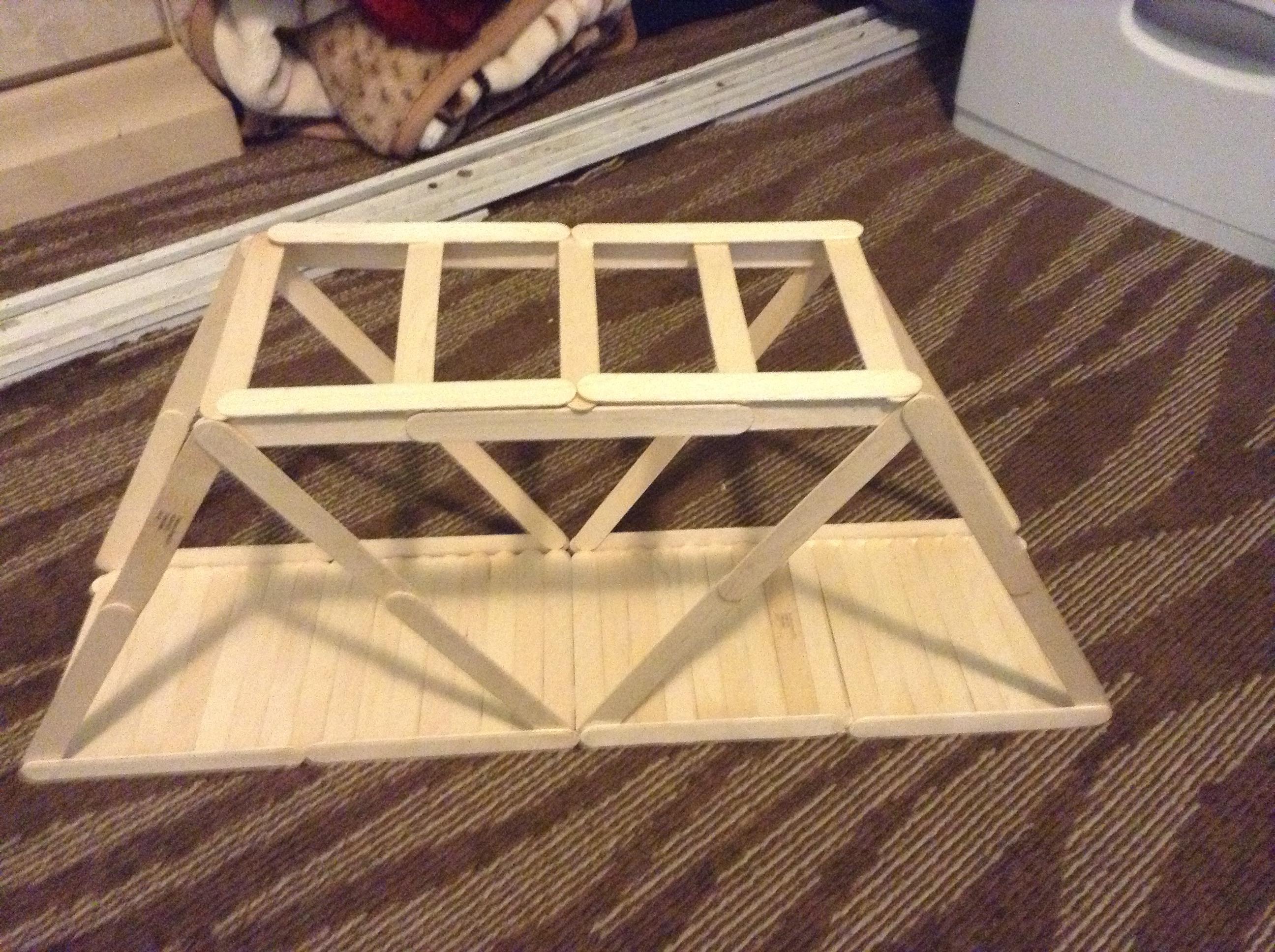 Popsicle Stick Bridge - DIY