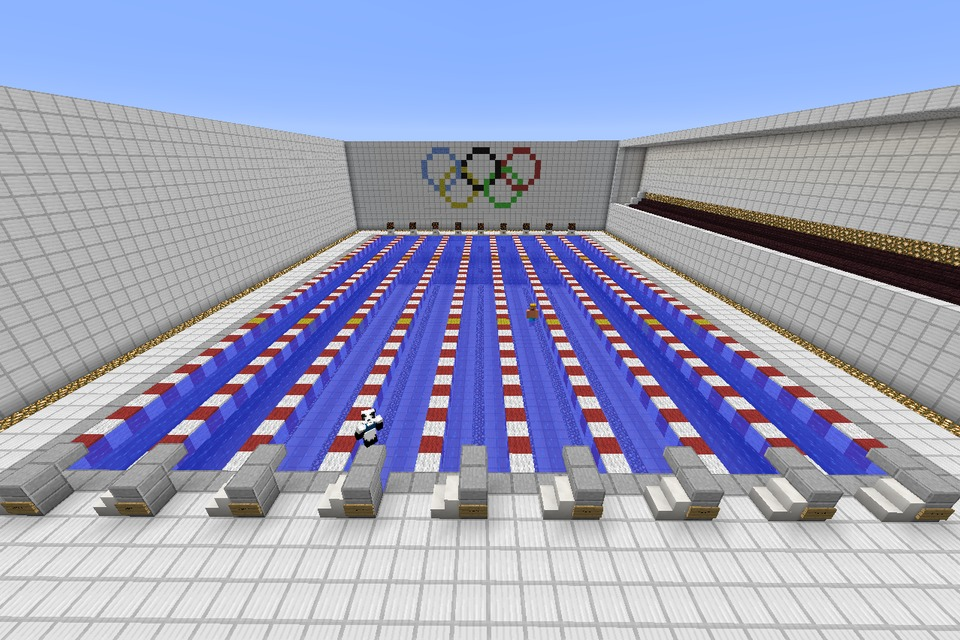 minecraft olympic sized swimming pooldiy - Design Swimming Pool Online