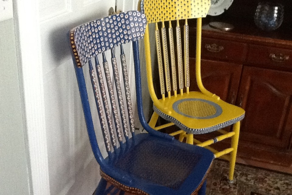 painted chairs diy