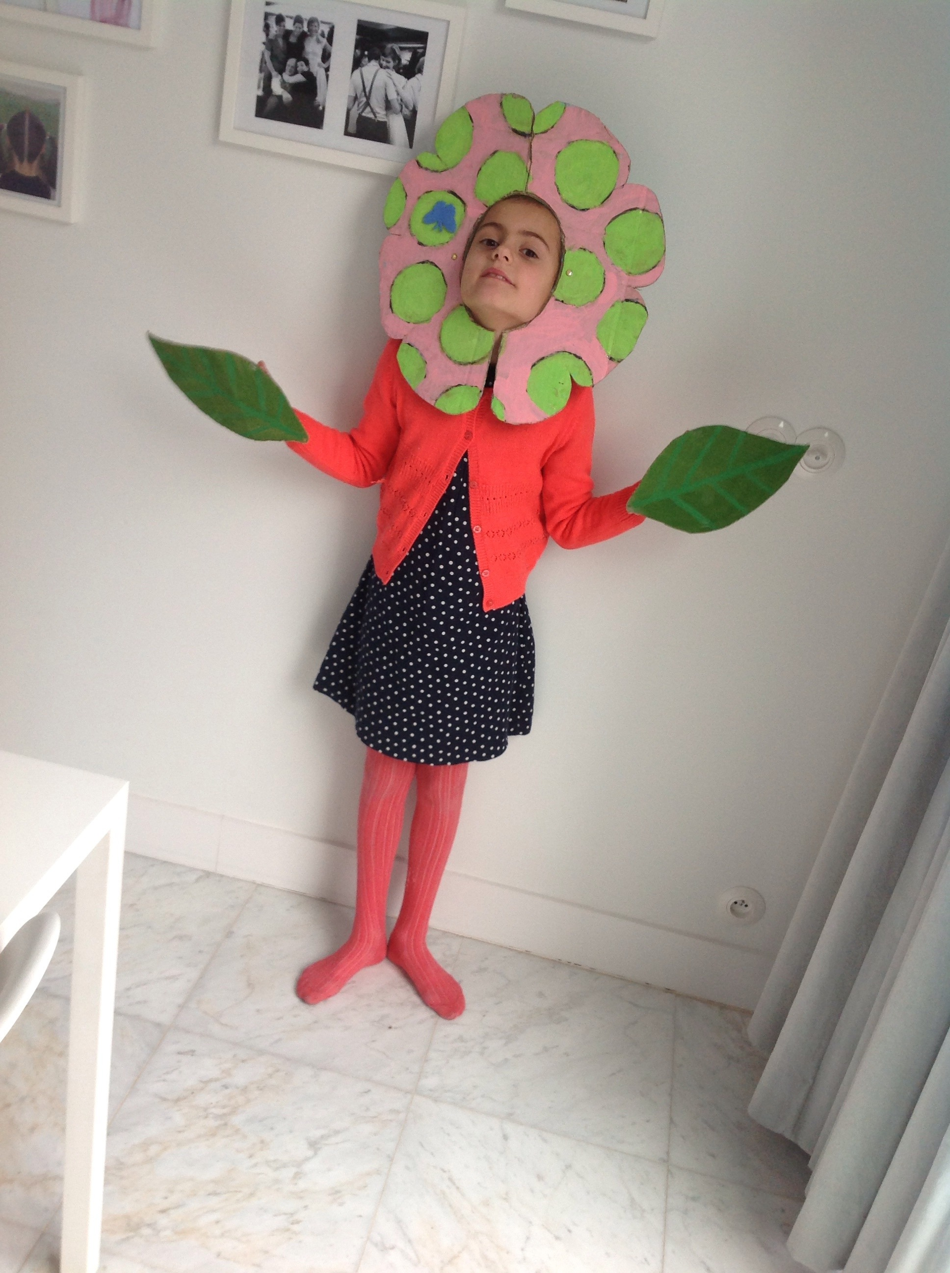 Flower Costume DIY
