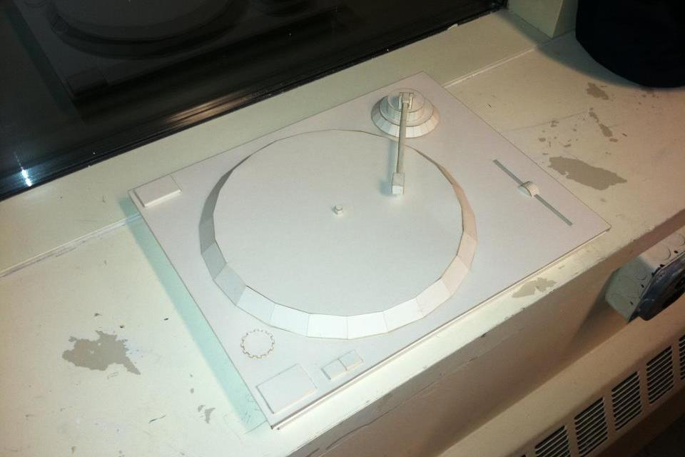 Paper DJ Turntable - DIY
