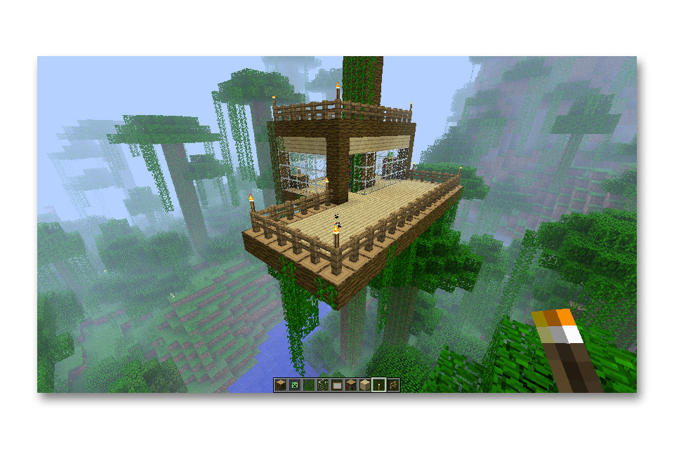 Minecraft Treehouse - ...
