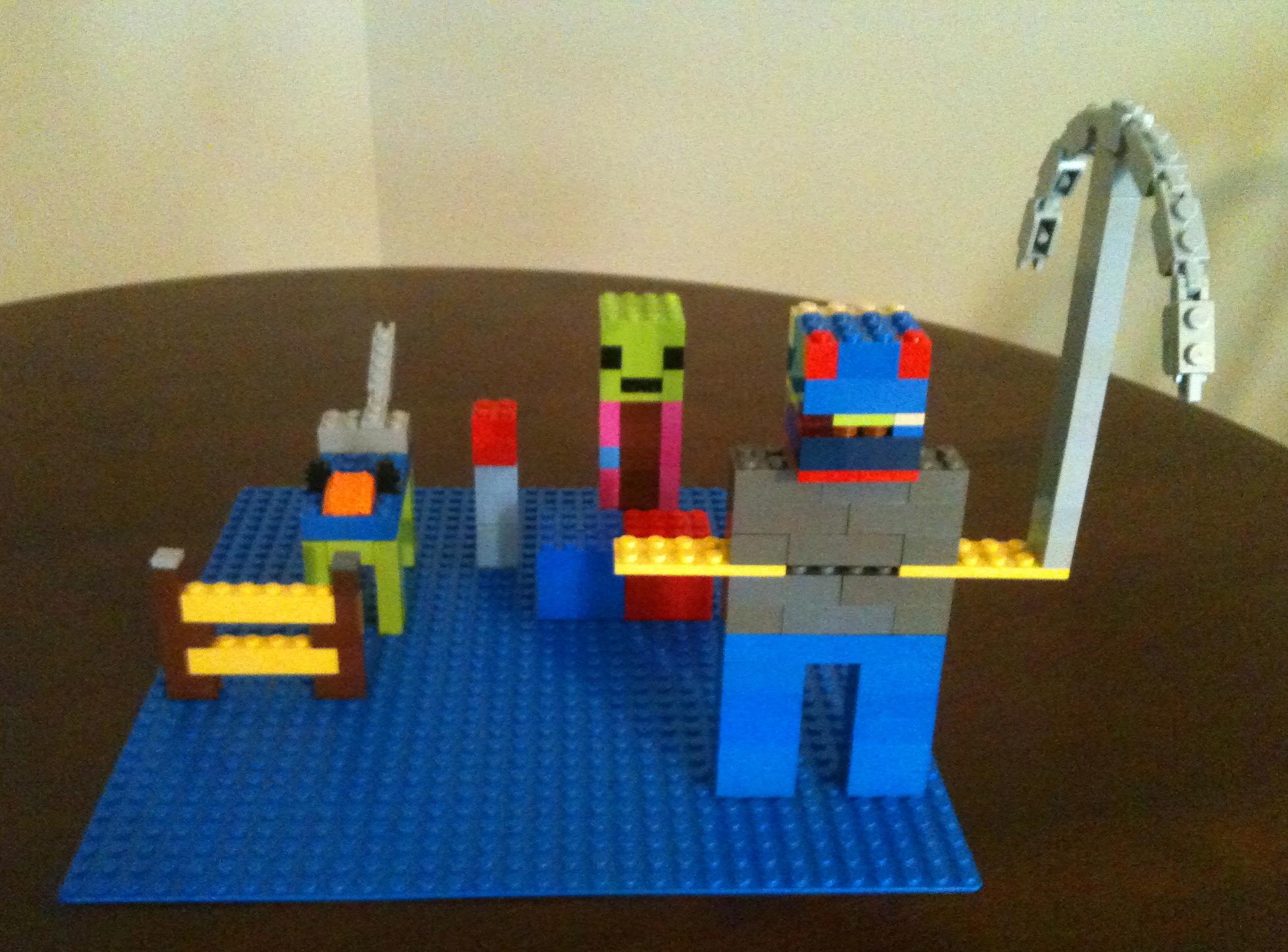 Lego minecraft diy for Lego diy