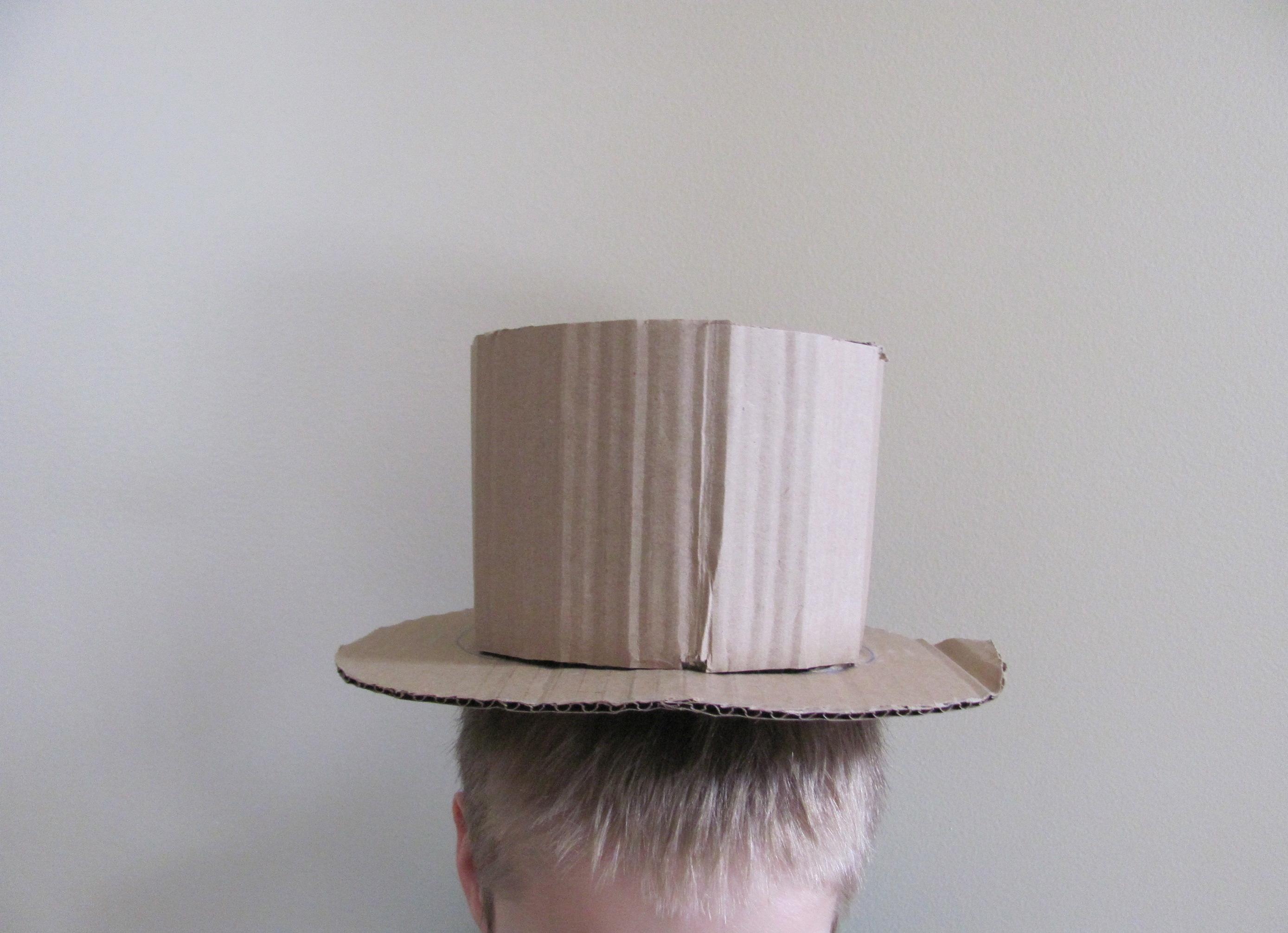 Cardboard Magician S Hat Diy