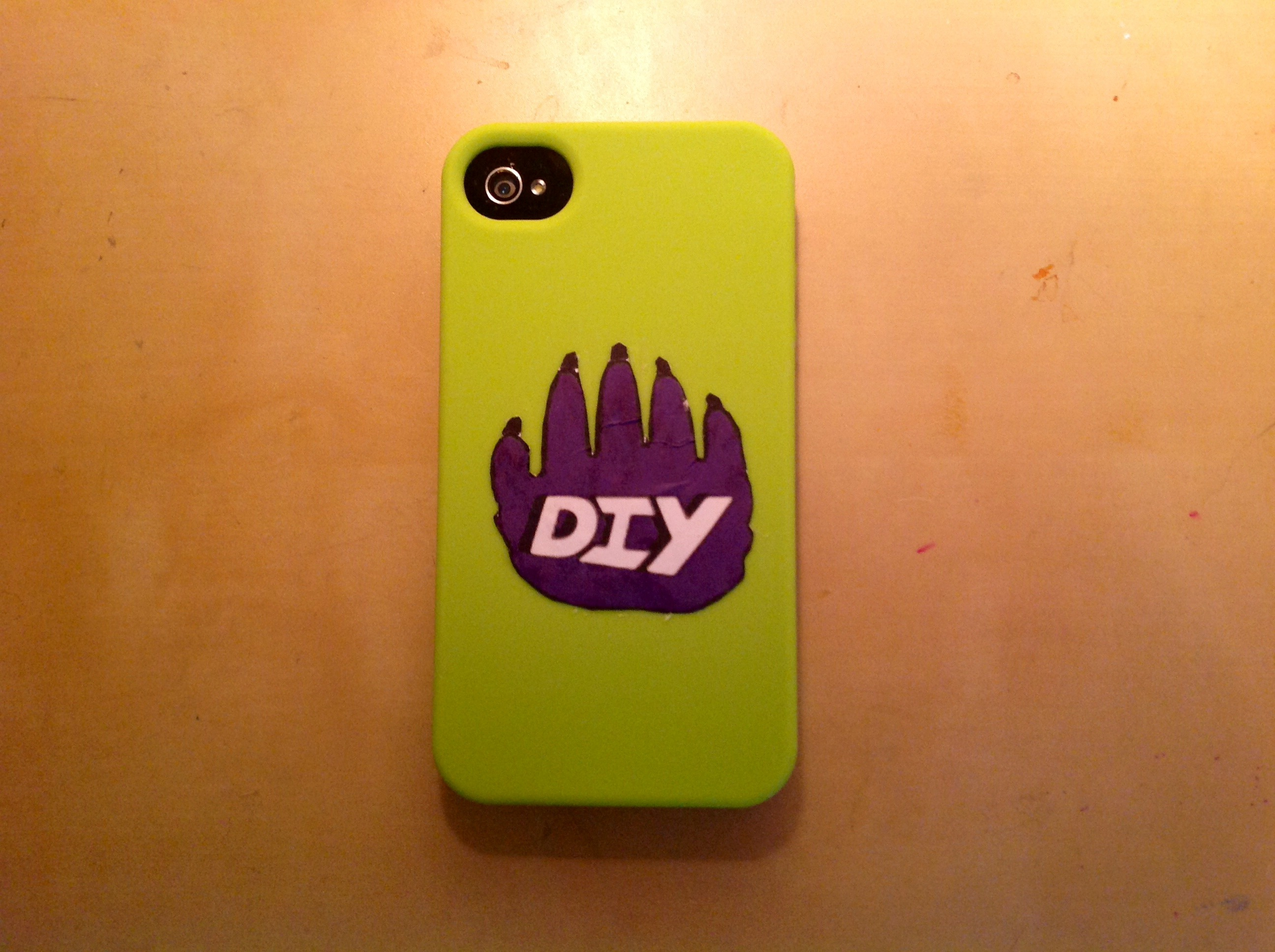 Diy iphone case diy for Homemade iphone case