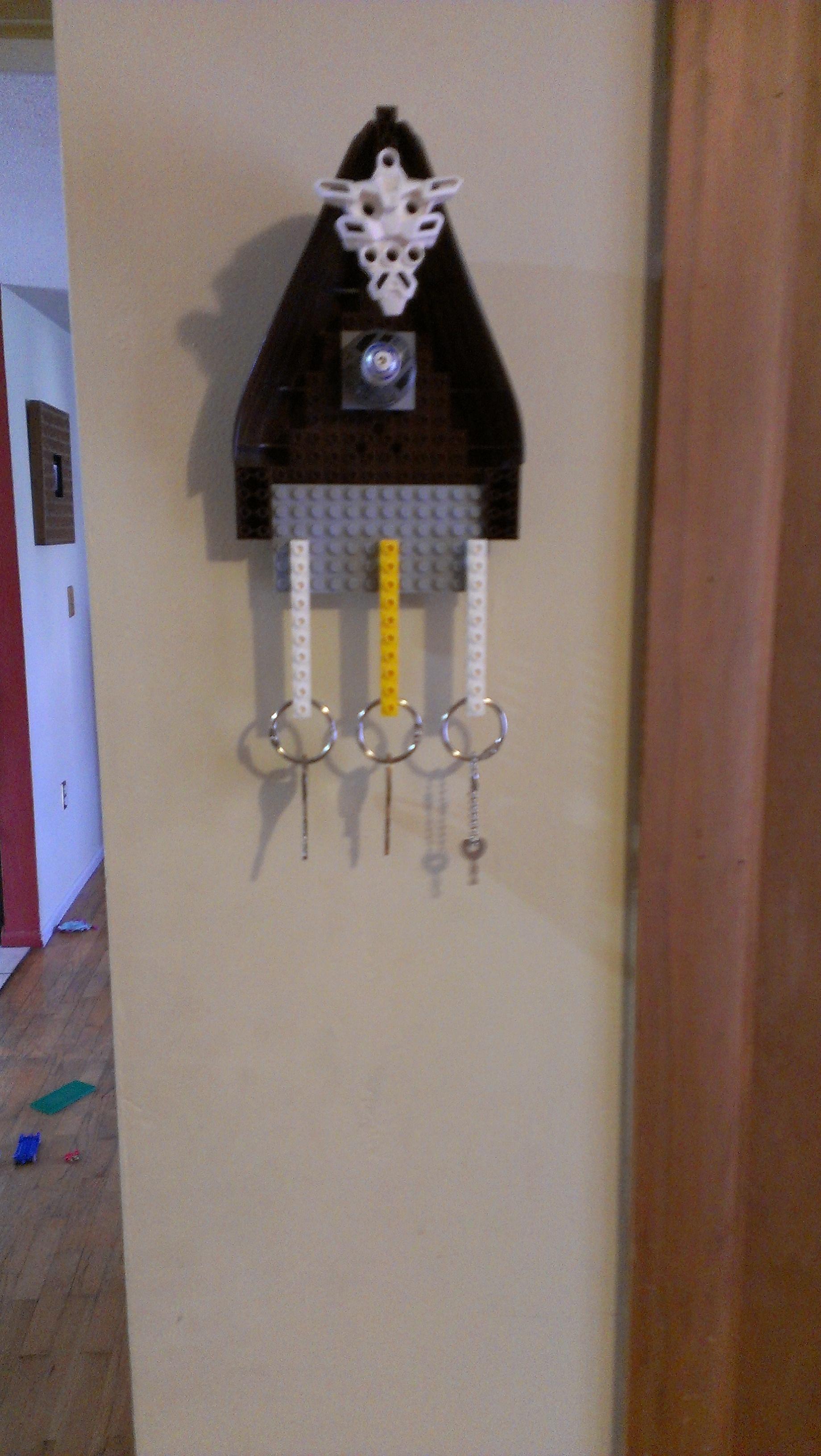 Lego Key Holder Gift For My Dad Diy