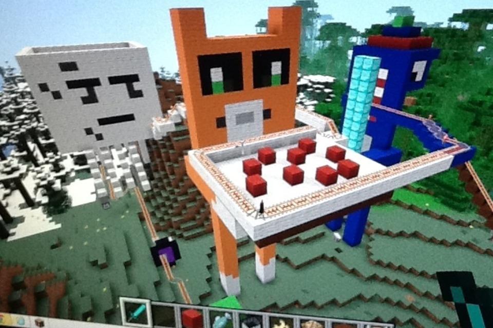 Minecraft Pixel Art Stampy Longnose Ghast