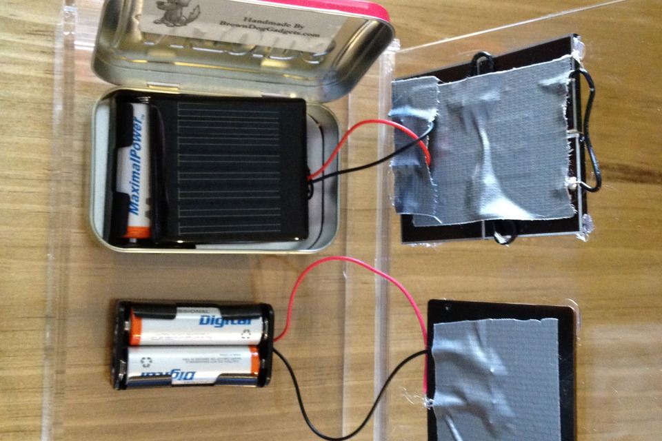 Solar Battery Charger - DIY