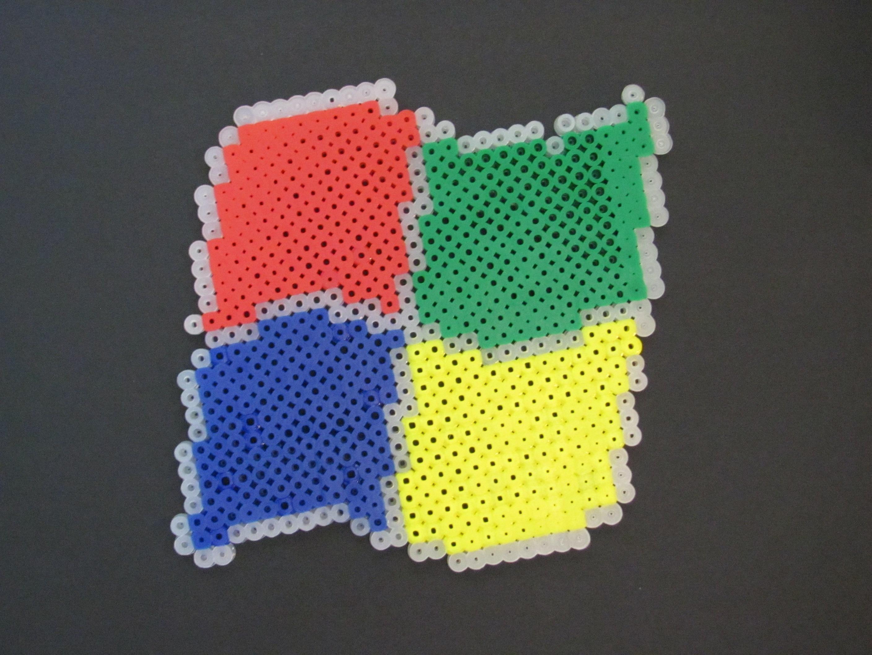 Windows Logo Perler Bead DIY