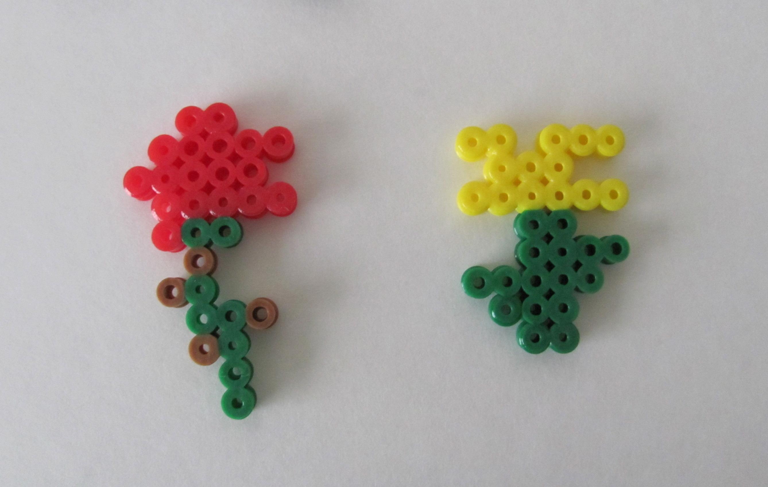 minecraft perler beads bow and arrow