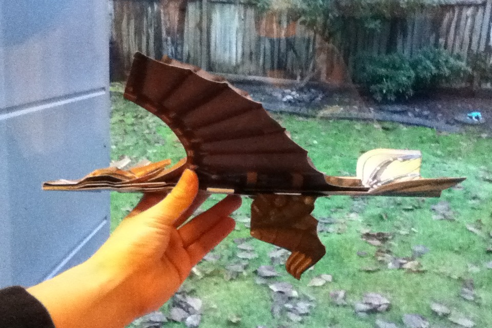 Paper Flying Dragon DIY