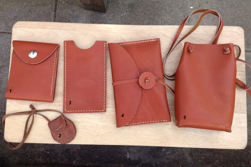 leather projects which one do you like best diy