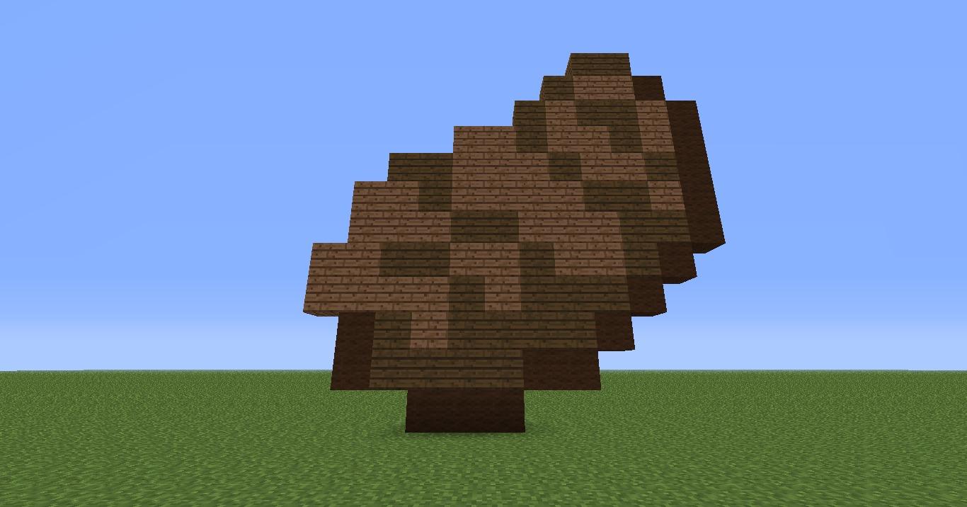 Steak Pixel Art in Minecraft - DIY